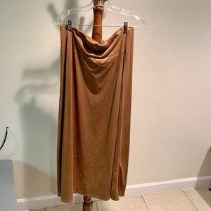 Avenue New w/tag Carmel Maxi Skirt.